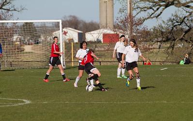 Badger girls soccer v Union Grove