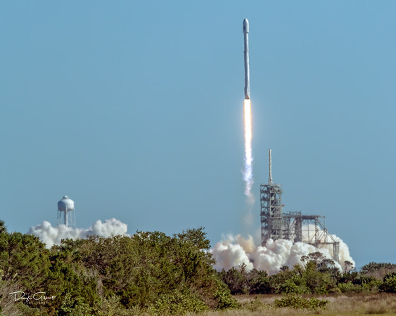 Koreasat 5A on a Falcon 9 Booster