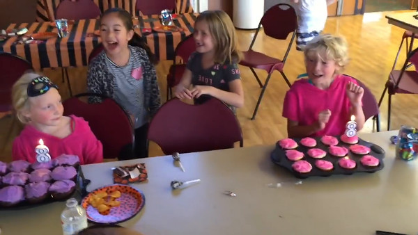 Nia and Riley - 8th Birthday Party