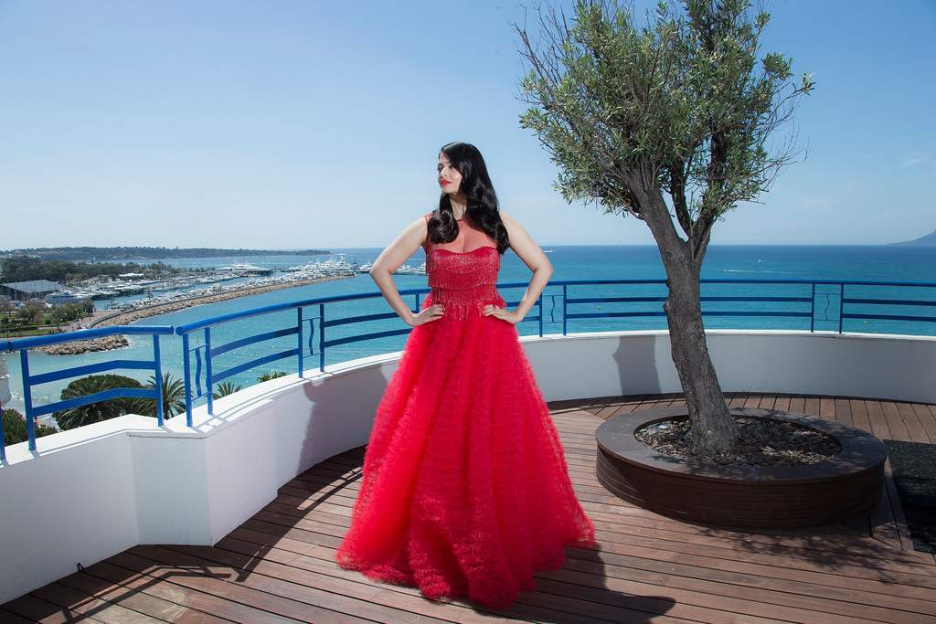 . Actress Aishwarya Rai Bachchan poses during portraits at the 69th international film festival, Cannes, southern France, Saturday, May 14, 2016. (AP Photo/Joel Ryan)