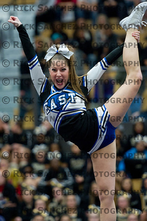 12-10-11 North Pole Cheer Varsity  Lincoln-Way East HS