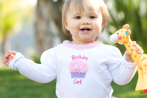 Ava's First Birthday!