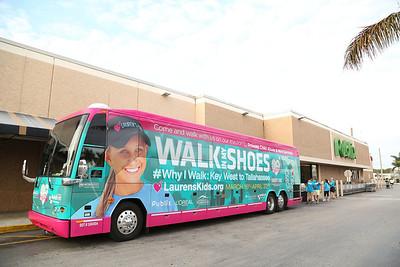 """03-23-14 """"Walk In My Shoes"""" Publix Hallandale Place to Publix Las Olas Ft. Lauderdale by Omar Vega"""