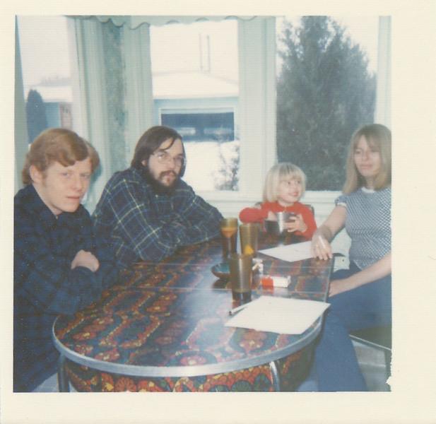 Bill Bush, Dave, Sonja Bush, Claudia Bush