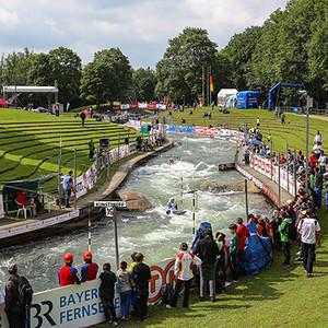 ICF Canoe Kayak Slalom World Cup Augsburg 2013