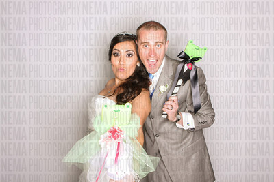 Rocio and Jasons Photo Booth