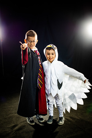 Andrew and Christopher Halloween 2020
