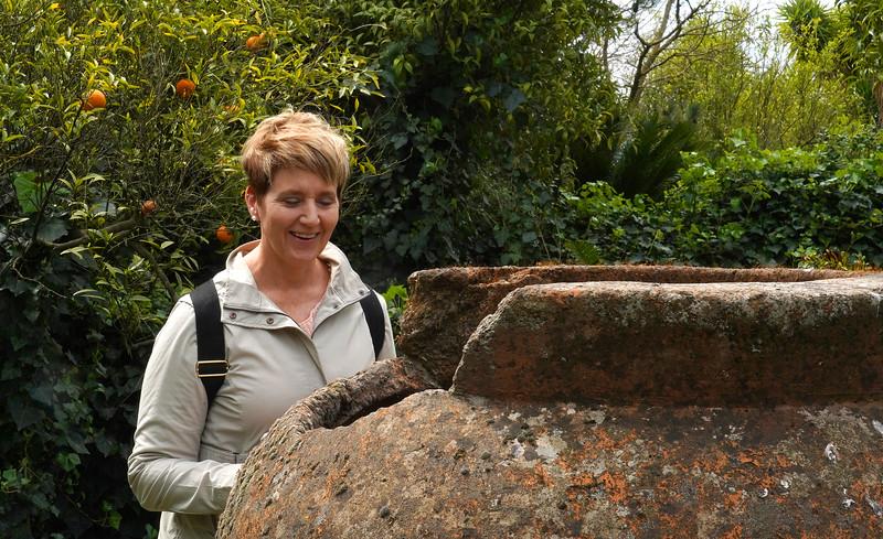 In Giardino di Villa Trinità in Mascalucia