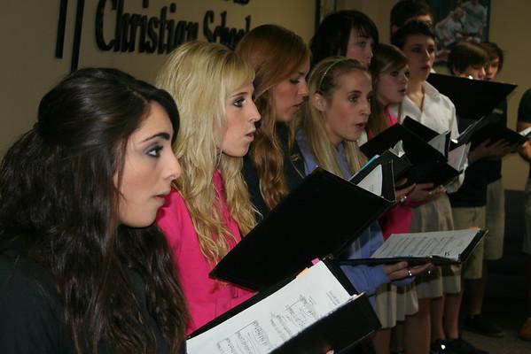 Choir Photos 2010