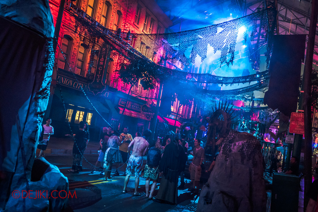 Halloween Horror Nights 7 - Pilgrimage of Sin / Perversion overview