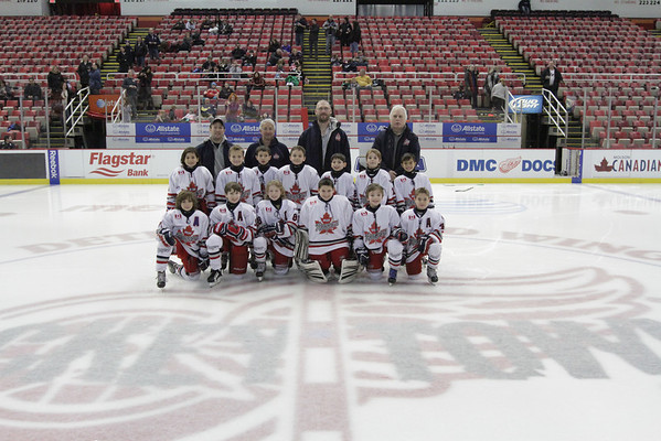 Vaughan Rangers Mite-Joe Louis Arena