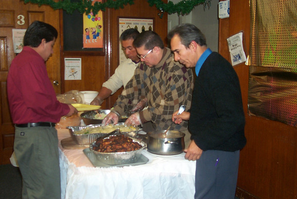 Banquete Navideño 2001