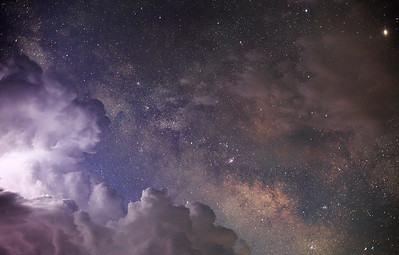 May 30th 2016 - Storms and Milky Way