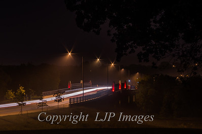 Light Trails and Fog