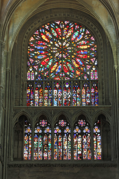 Amiens, Notre-Dame Cathedral South Rose Window