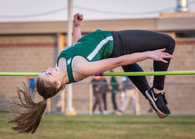 Jerry Crews Inv. High Jump - Girls