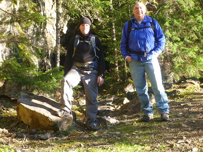 Spruce Railroad Trail Hike 1-12-15