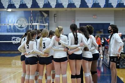 OE Girls Volleyball Varsity Vs Oswego 2021