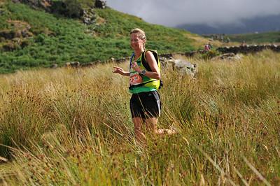 Snowdonia Trail Marathon - Marathon at Rhyd Ddu after 10:15