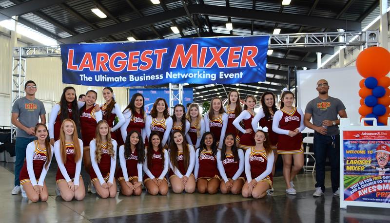 2014/15 Largest Mixer Event