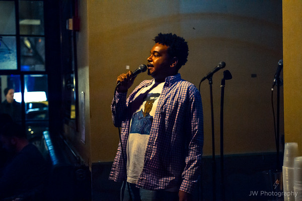 Comedy at the Knitting Factory 12/4/16