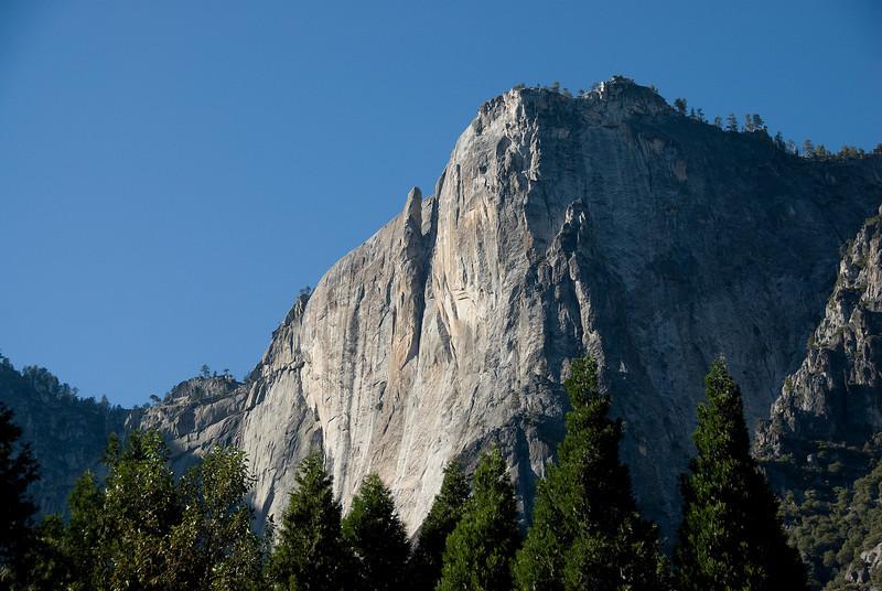 El Capitan rock formation in Yosemite National Park in California, USA