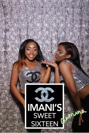 Imani's Sweet 16 Mirror Booth