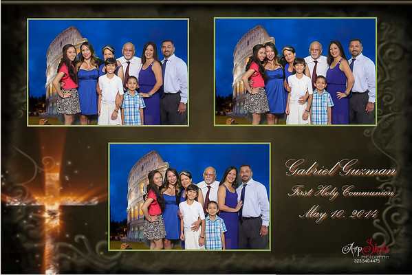 Gabriel's 1st Communion Photo Booth Pictures