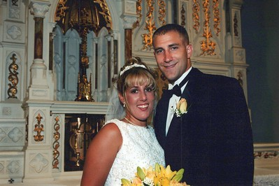8-12-2000 Jennifer Glaser & Kristopher Tate Wedding
