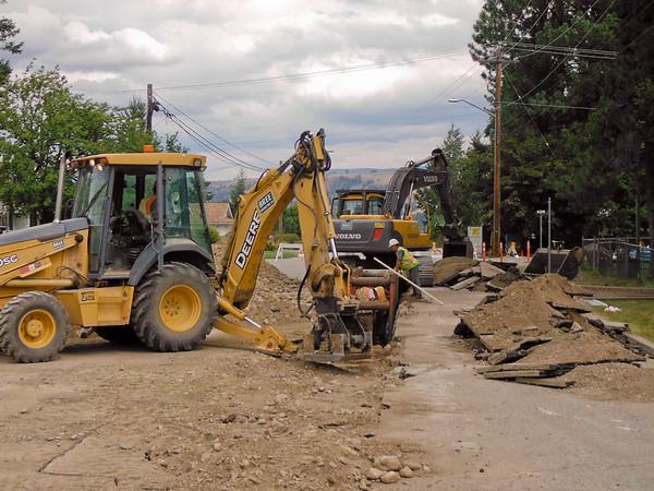 Mayne Street Water Upgrade, Princeton