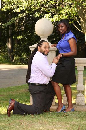 Malek and Shakira engagement unedited photos
