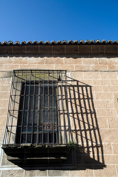 Window, Caceres, Spain