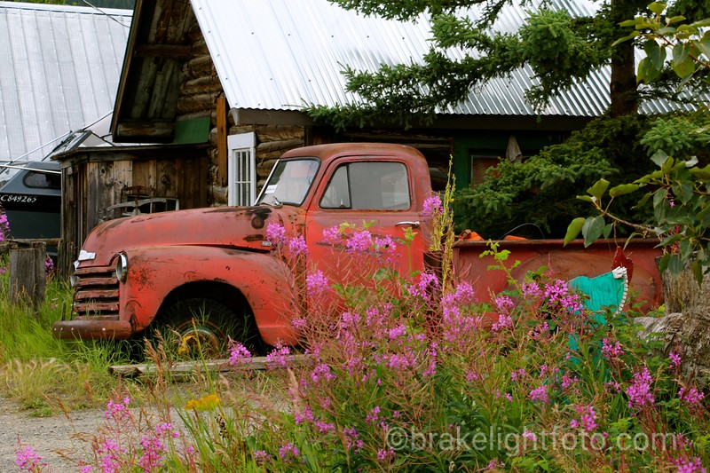 Old Truck In Carcross
