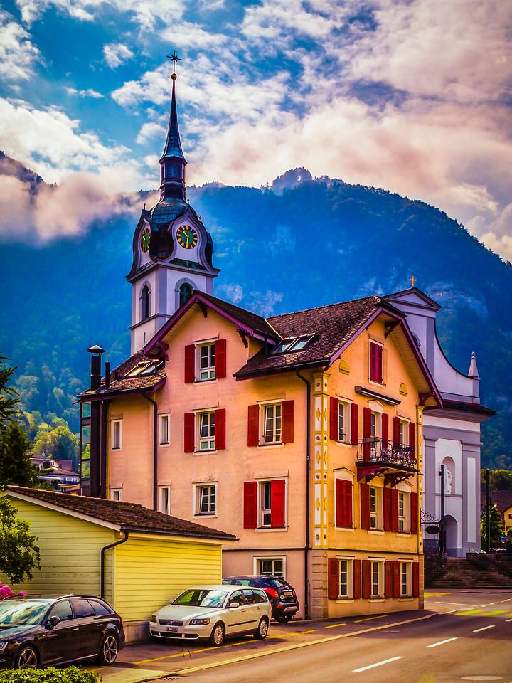 瑞士卢塞恩(Lucerne),特色建筑