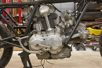 1974 Ducati 750 GT Restoration - 2018.11.04