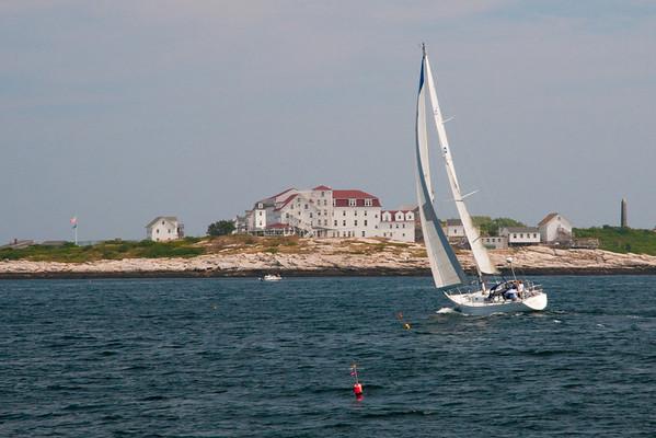 Sailing to Isles of Shoals
