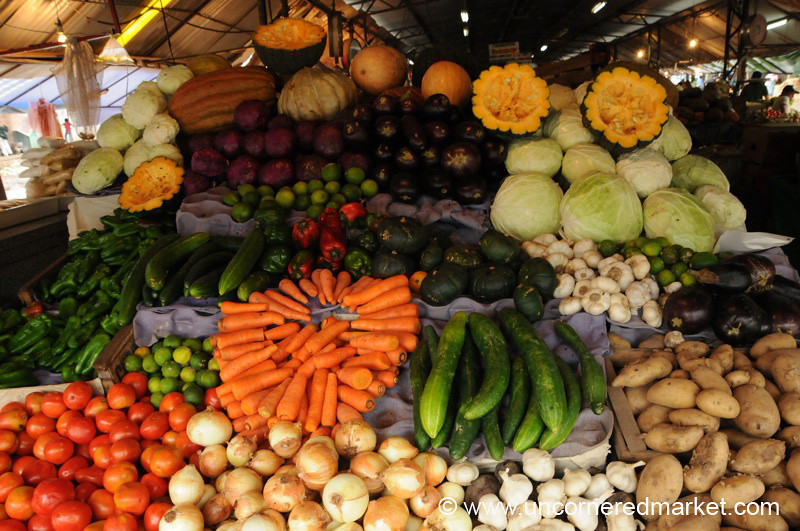 Vegetable Stand - Asuncion, Paraguay