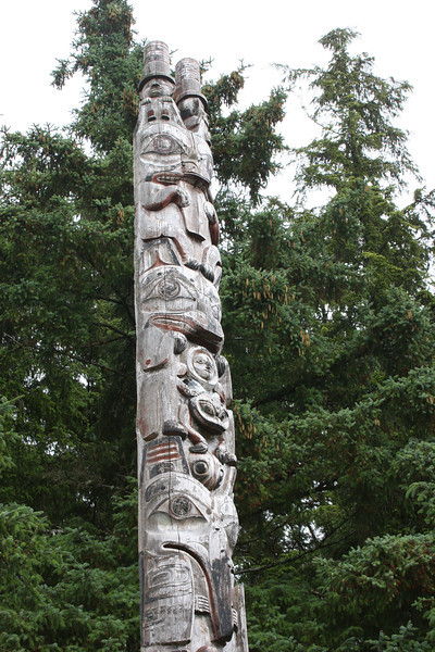 Sitka is knows for it's totems