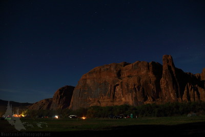 Full moon on Poison Spider Mesa