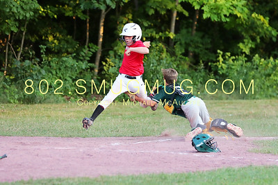 Shelburne Dodgers at Middlebury July 20th 2020