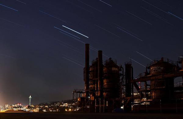 2009-12-10  Gasworks at night