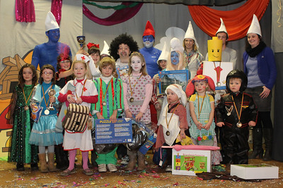 Kindercarnaval 2012 - Playback en prijsuitreiking