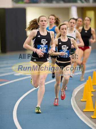 Women's Mile - by Ike -  GVSU Big Meet