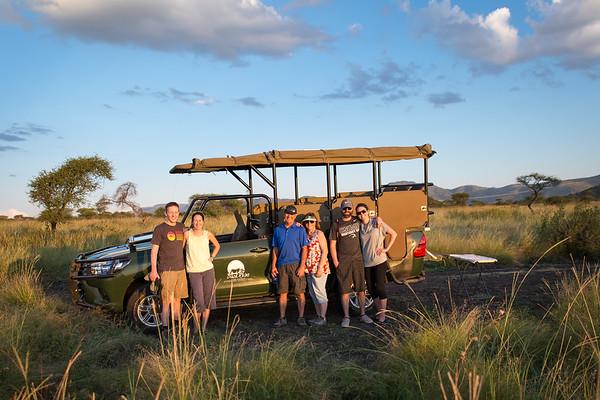 Greensides take on South Africa - Pilanesberg Safari - March 2017