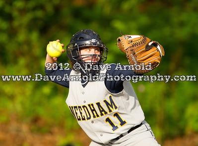 5/16/2012 - Varsity Softball - Weymouth vs Needham