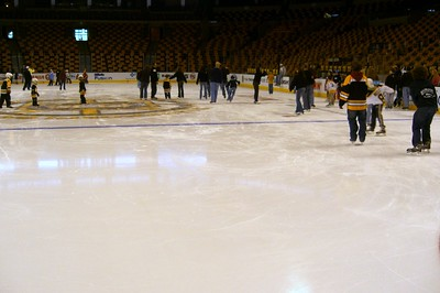 Skate with Boston Bruins