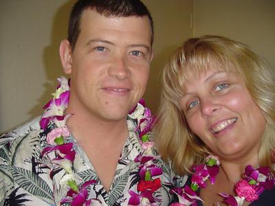 Honeymoon in Oahu and Maui 2004