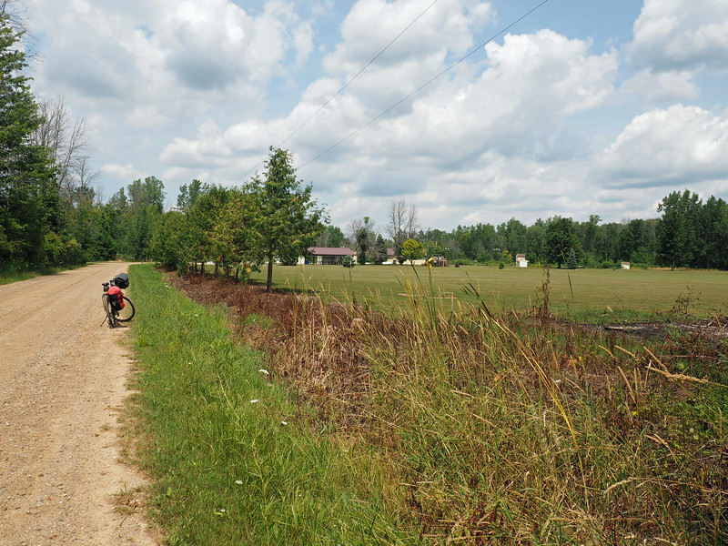 The Cass City Gun Club is at the far end of this gravel road.