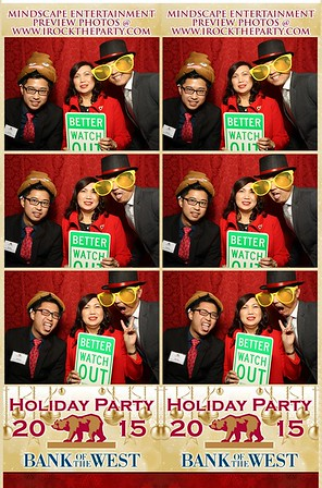 Bank of the West II Holiday Party -Photo Booth Pictures
