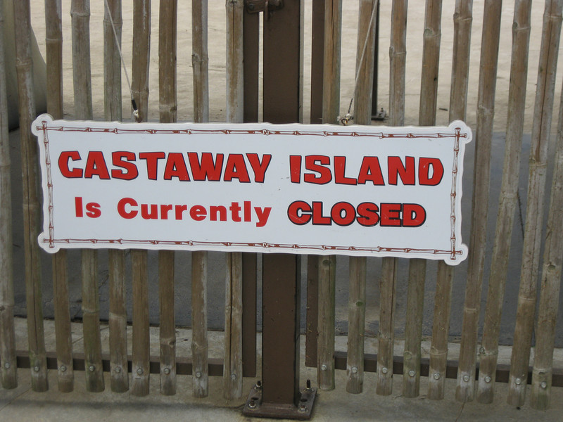 Castaway Island is currently closed.